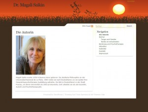Dr. Magali Saikin - Homepage Screenshot